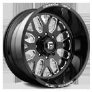 Fuel Wheels <br /> FF19 Black Milled
