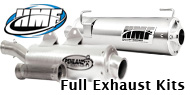HMF Engineering <br>Complete ATV Exhaust Systems