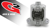 G2 Axle & Gear Differentials