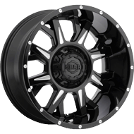 742BM Kickstand Wheels <br/>Gloss Black with CNC Milled Accents