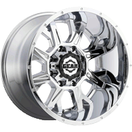 742C Kickstand Wheels <br/>Chrome