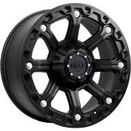 718B Blackjack Wheels <br /> Carbon Black