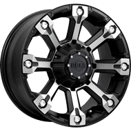 719MB Backcountry Wheels <br /> Carbon Black & Machined