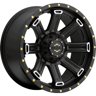 738MB Switchback Wheels <br /> Satin Black