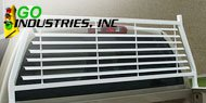 Go Industries<br /> Painted-Frame Only Headache Racks White