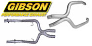 CrossOver X Pipe <br> Gibson Exhaust Systems