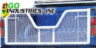 Go Industries White Painted V-Gate Tailgates