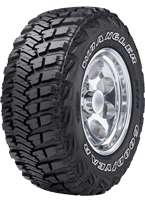 GoodYear Military Wrangler MT/R Tires