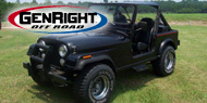 GenRight Front Bumpers<br> for 1976-1986 Jeep CJ7 and CJ8 Scrambler