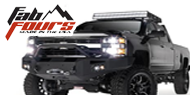 Fab Fours HD Winch Sensor Bumpers for Chevy