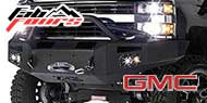 Fab Fours HD Winch Sensor Bumpers for GMC