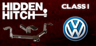 Hidden Hitch Class I Hitches Volkswagen