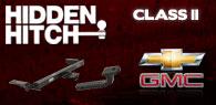 Hidden Hitch Class II Hitches Chevy GMC