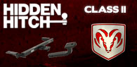 Hidden Hitch Class II Hitches Dodge