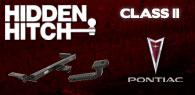 Hidden Hitch Class II Hitches Pontiac