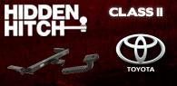 Hidden Hitch Class II Hitches Toyota