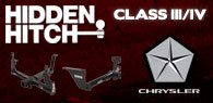 Hidden Hitch Class III/IV Hitches Chrysler