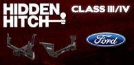 Hidden Hitch Class III/IV Hitches Ford