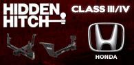 Hidden Hitch Class III/IV Hitches Honda