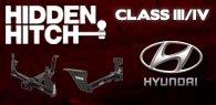 Hidden Hitch Class III/IV Hitches Hyundai