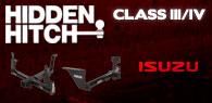 Hidden Hitch Class III/IV Hitches Isuzu