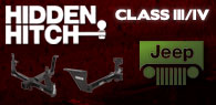 Hidden Hitch Class III/IV Hitches Jeep