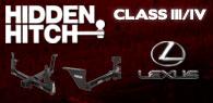 Hidden Hitch Class III/IV Hitches Lexus