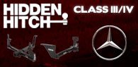 Hidden Hitch Class III/IV Hitches Mercedes