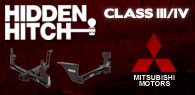 Hidden Hitch Class III/IV Hitches Mitsubishi