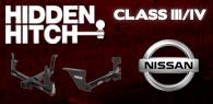 Hidden Hitch Class III/IV Hitches Nissan