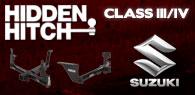 Hidden Hitch Class III/IV Hitches Suzuki