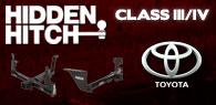 Hidden Hitch Class III/IV Hitches Toyota