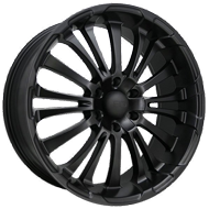 HD Wheels <br/>Blackout All Satin Black