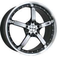 HD Wheels <br/>Cool Down Iridium Black Machined