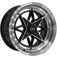 HD Wheels <br/>RS-L Gloss Black with Machined Face & Lip