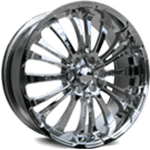 HD Wheels <br/>Spinout (Truck) PVD Chrome Finish