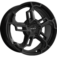 HD Wheels <br/>Switch All Satin Black