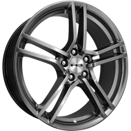 HD Wheels <br/>Vento Hyper Black Finish