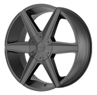 Helo Wheels <br />HE887 Satin Black