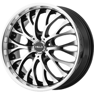 Helo Wheels<br /> HE890 Gloss Black