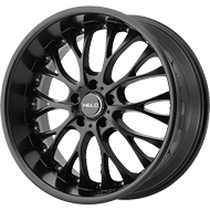 Helo Wheels<br /> HE890 Satin Black
