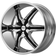Helo Wheels<br /> HE891 Chrome Plated