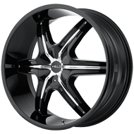 Helo Wheels<br /> HE891 Gloss Black