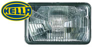Hella 4x6 Rectangular Conversion Lamps