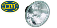 "Hella 7"" Round Conversion Lamps"