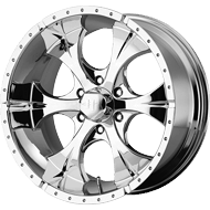 Helo Wheels<br /> HE791 Chrome