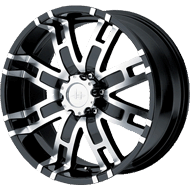 Helo Wheels<br /> HE835 Gloss Black