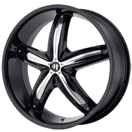 Helo Wheels<br /> HE844 Gloss Black