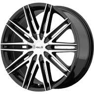 Helo Wheels<br /> HE880 Gloss Black