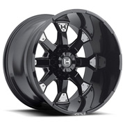 Hostile Wheels<br> Knuckles Asphalt Black Satin